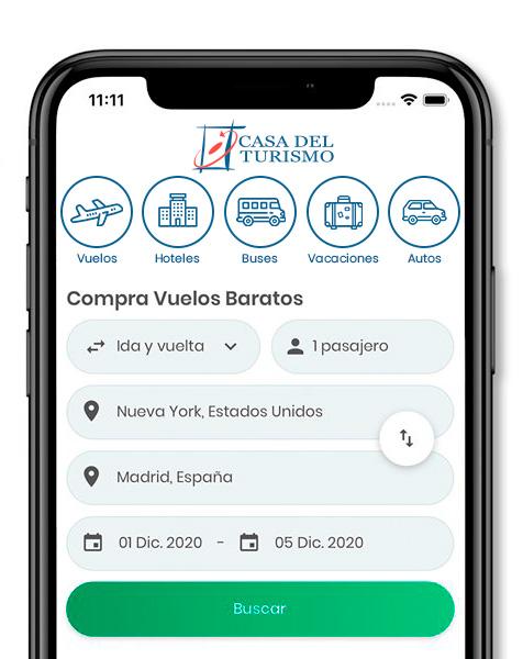App Casa del Turismo Bogota